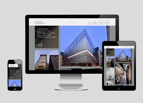 Gagnier Villeneuve website