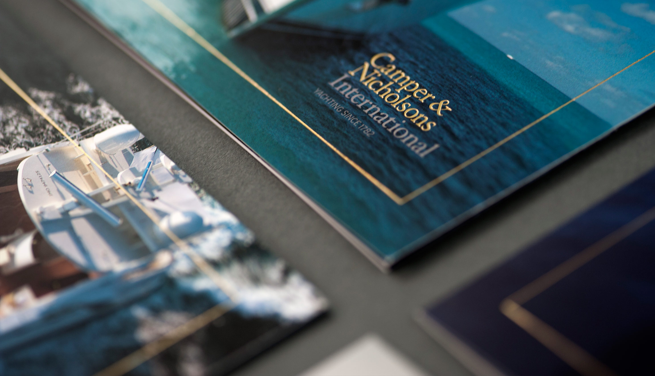 Camper & Nicholsons department brochures