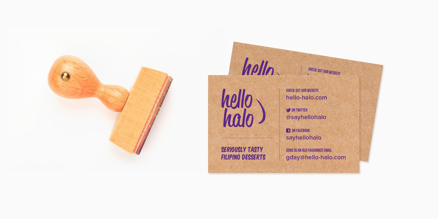 Hello Halo stationery