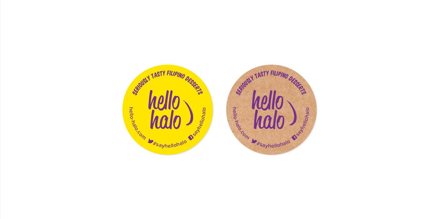Hello Halo stickers