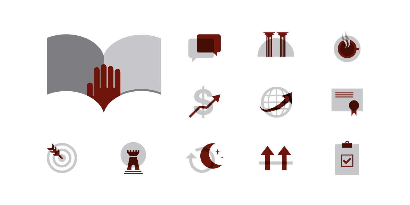 Valor Private Wealth icons for website
