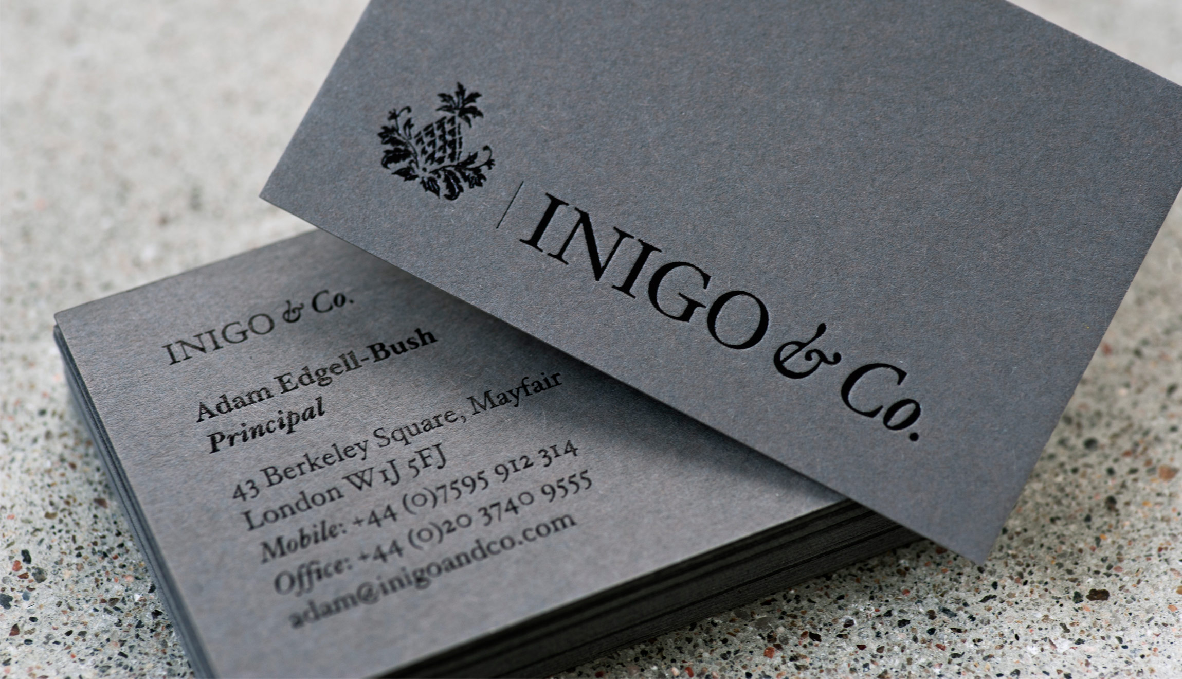 Inigo & Co Business Card