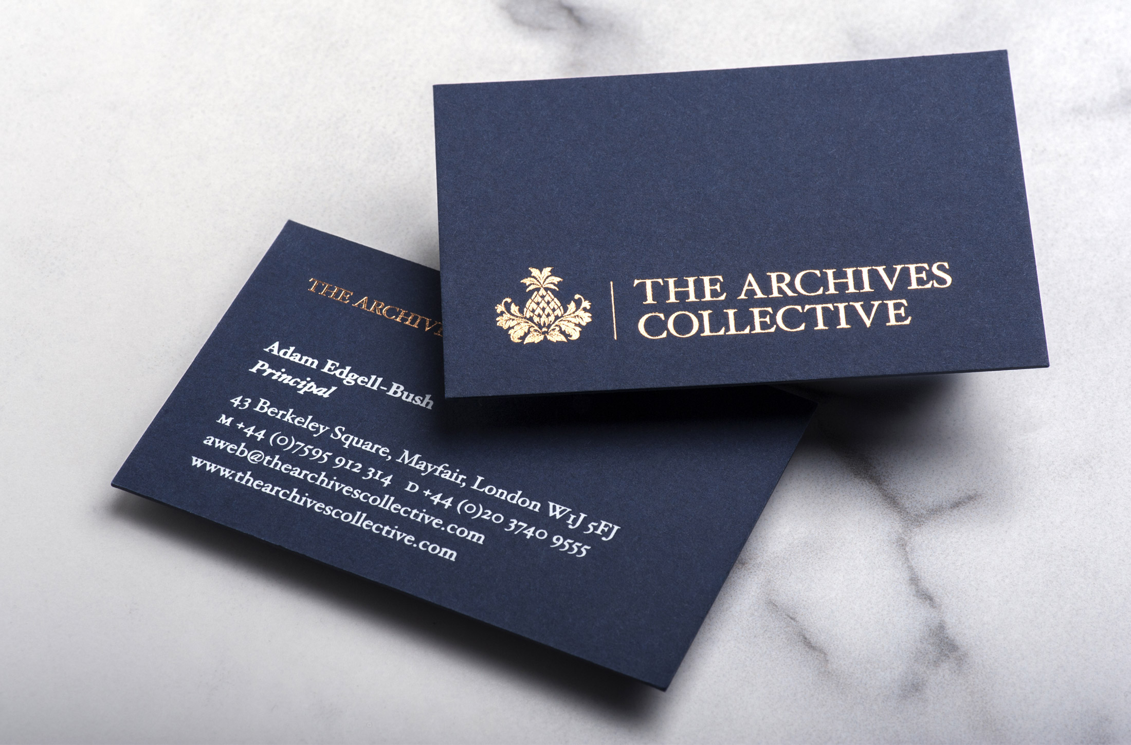 The Archives Collective Business Card