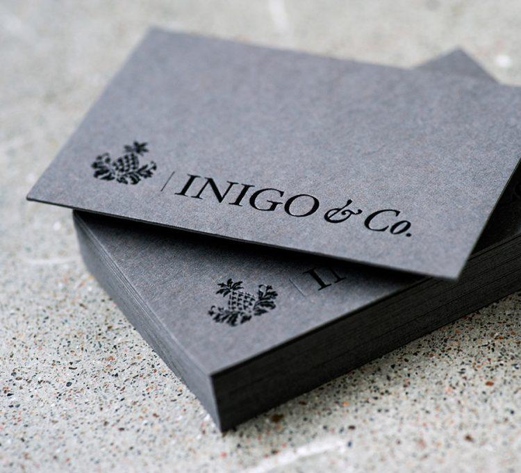 Inigo & Co Business Card