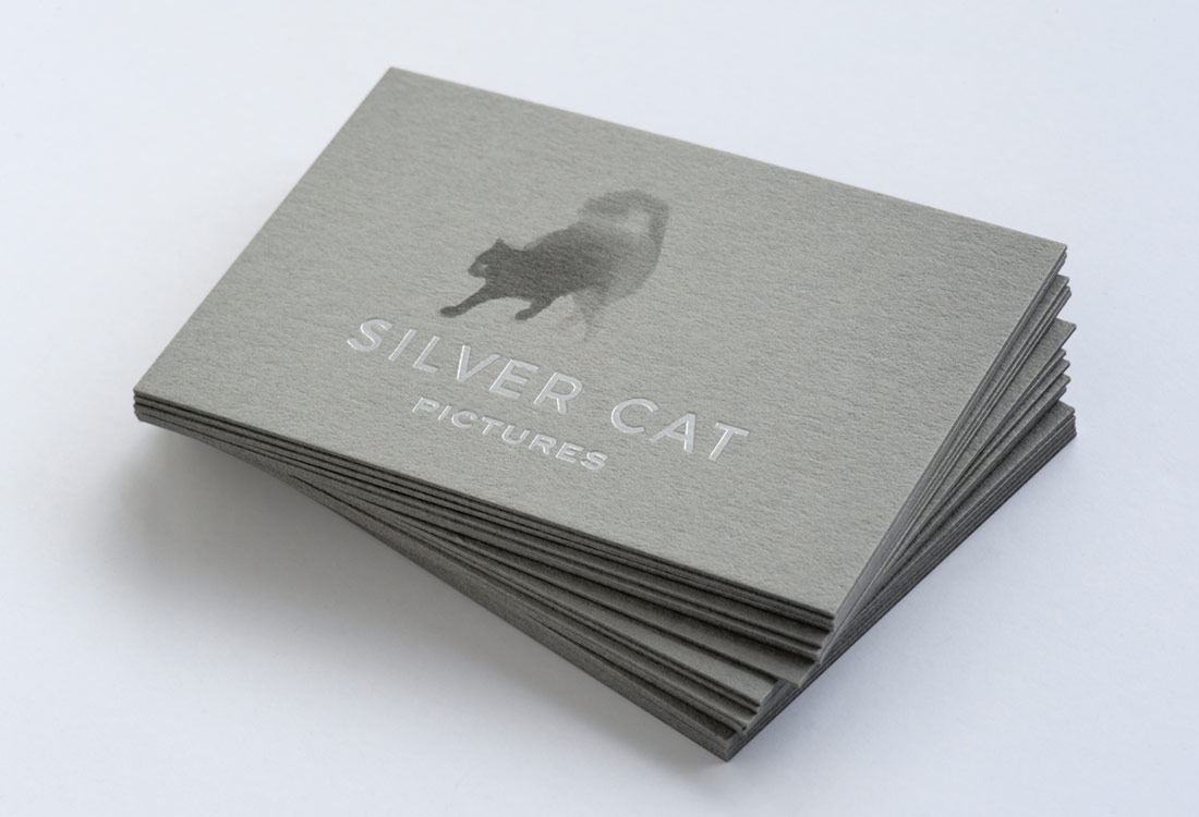 Business card for Silver Cat Pictures