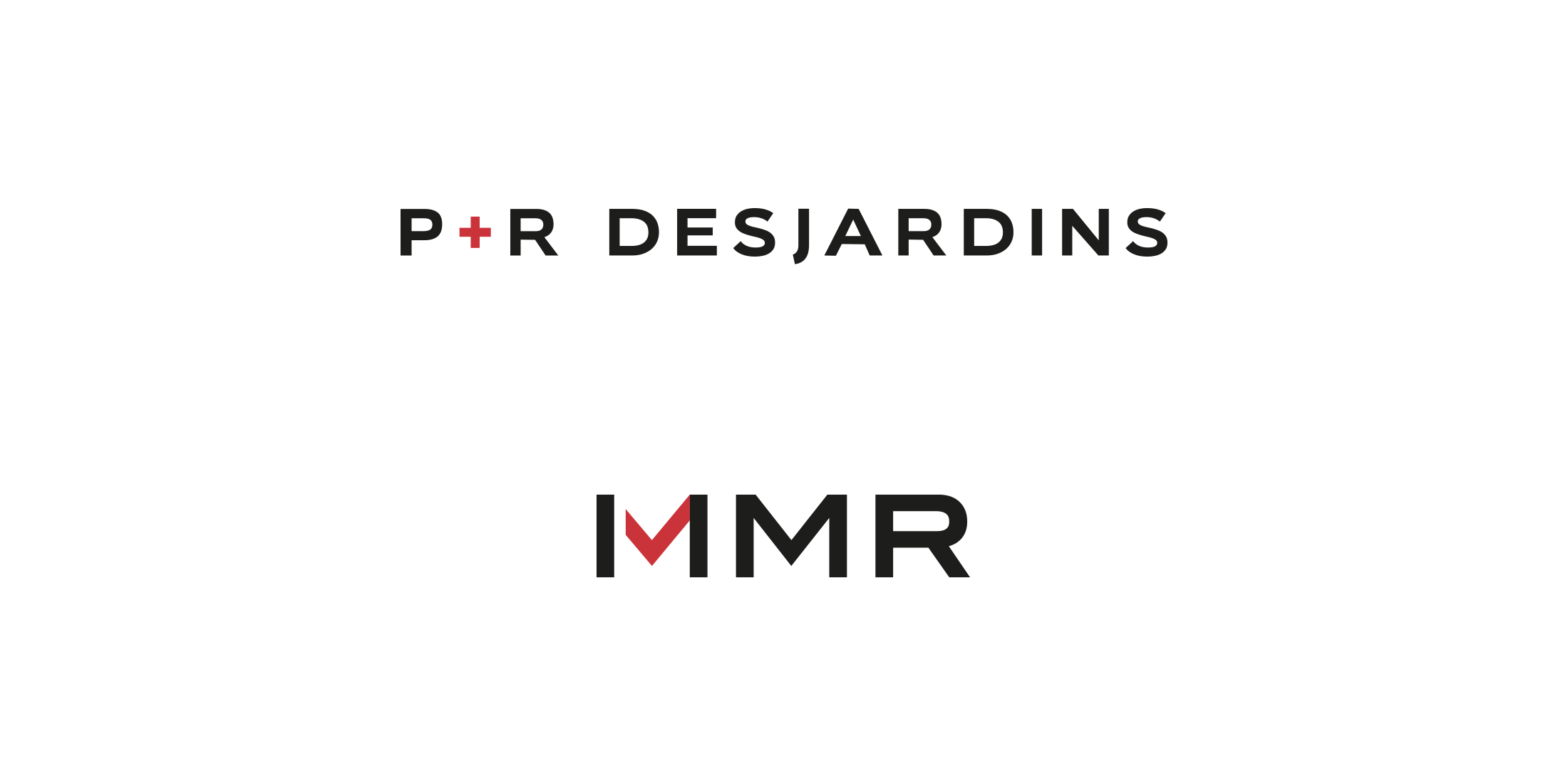 P&R Desjardins and MMR logos