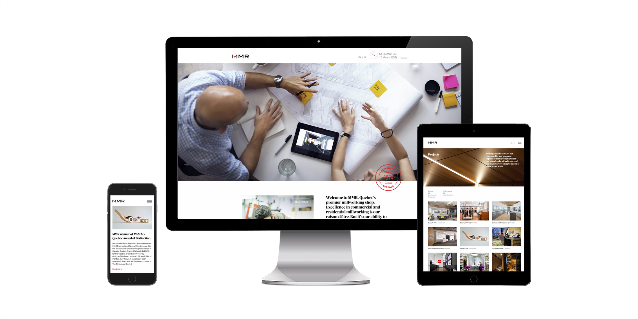 MMR website