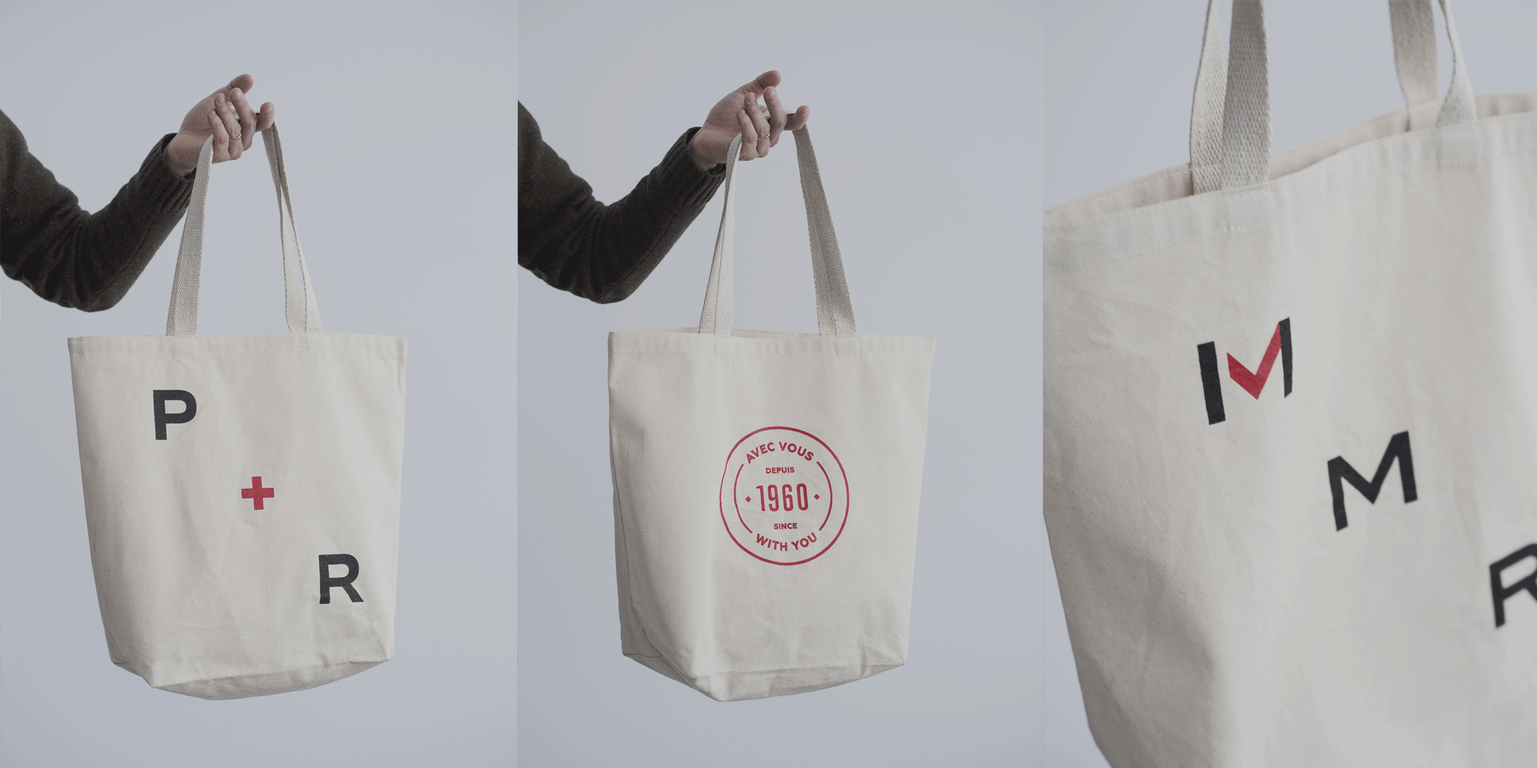 Tote bags for P&R Desjardins and MMR