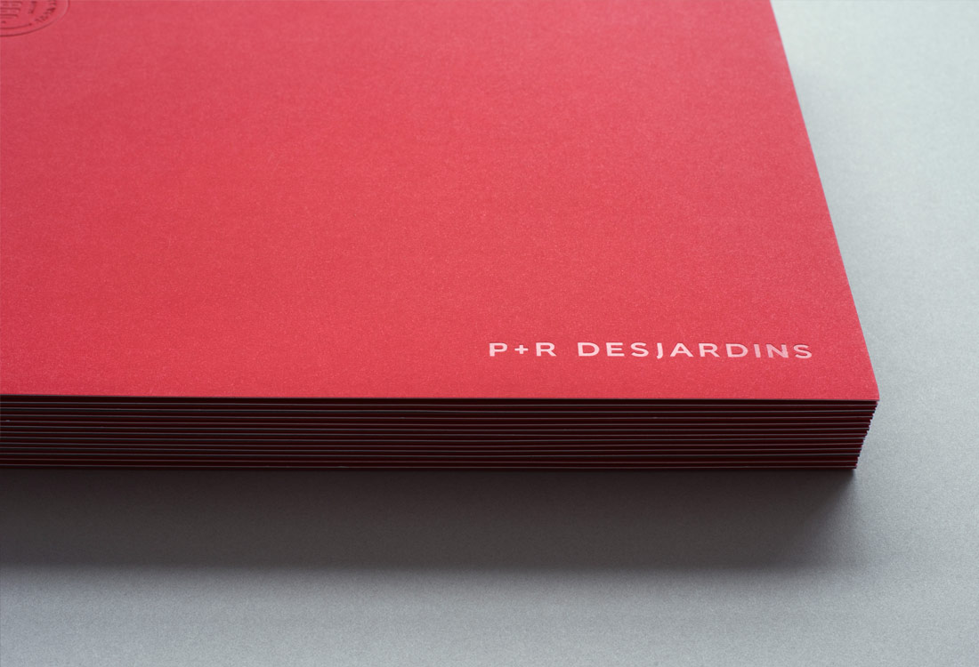 Folder for P&R Desjardins