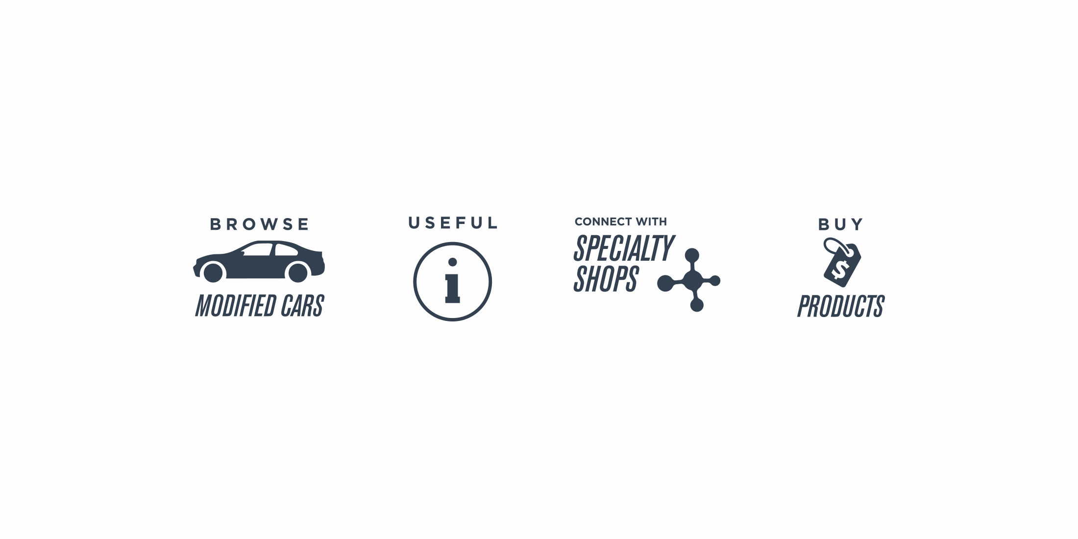 Custom suite of icons for ProCarMods