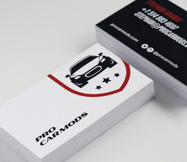 ProCarMods business cards