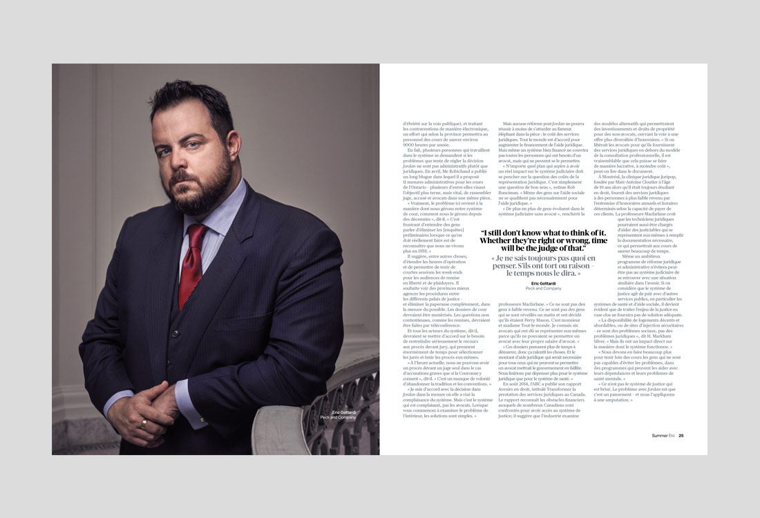 The Canadian Bar Association's National Magazine