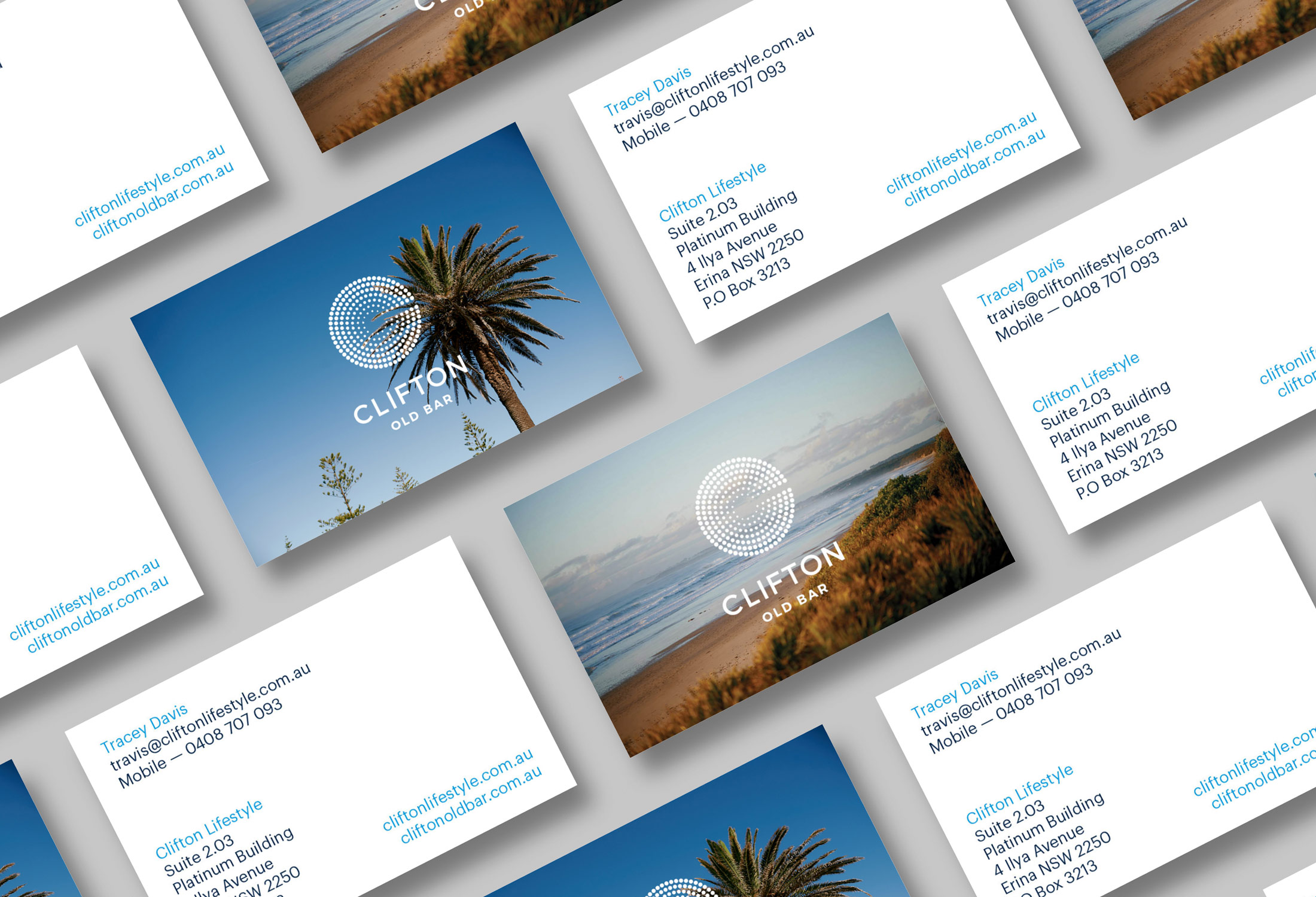 Clifton business cards