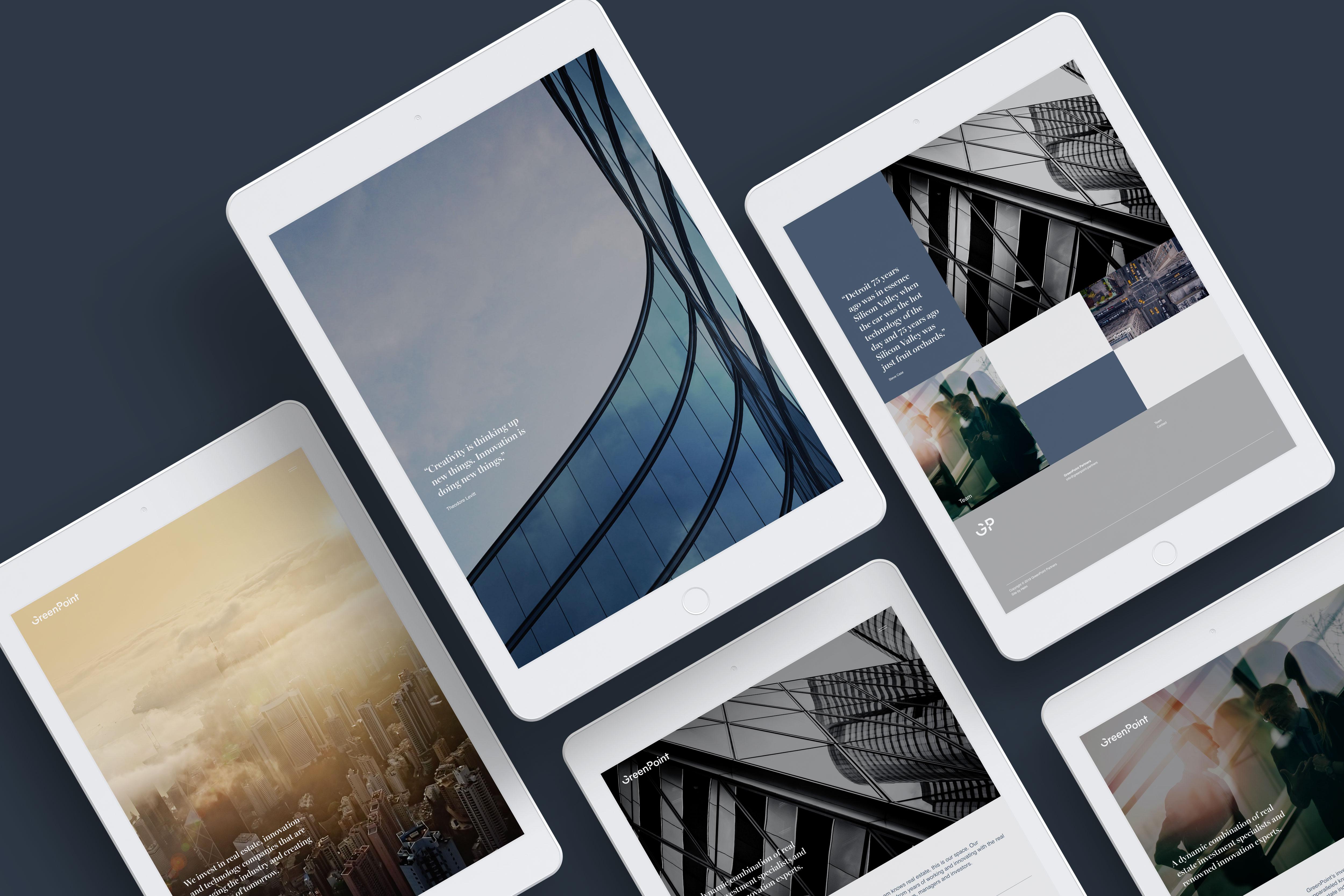 GreenPoint Partners website
