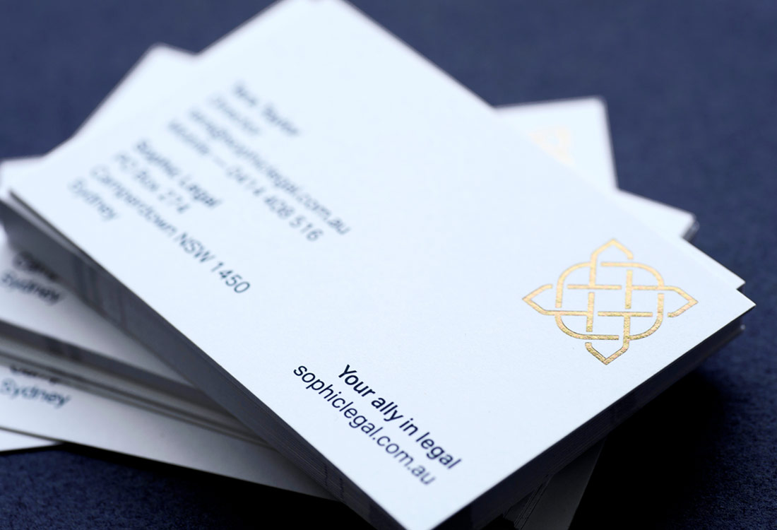 Sophic Legal stationery