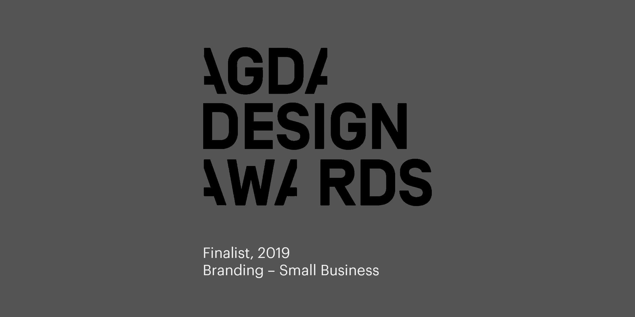 AGDA Design Awards Finalist 2019 , Small Business Branding for eQualitie