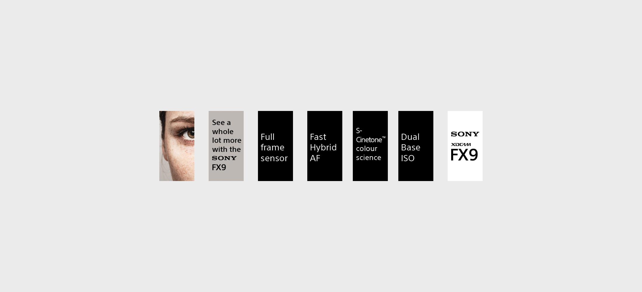 Sony PXWFX9 Camcorder Advert